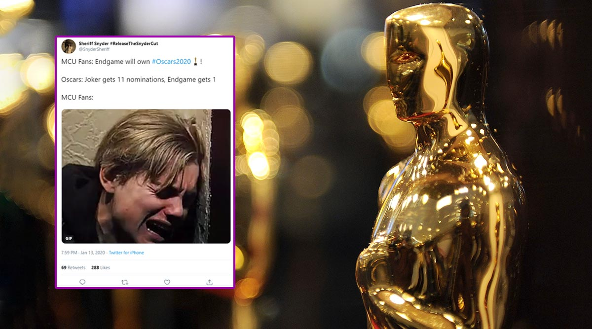 Oscar Nominations 2020 Funny Memes: Twitter Trend Hilarious Jokes Targeting the Nominee List (View Posts)