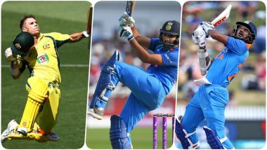 India vs Australia, 2nd ODI 2020, Key Players: Shikhar Dhawan, David Warner, Rohit Sharma and Other Cricketers to Watch Out for in Rajkot