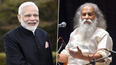KJ Yesudas Turns 80 and PM Narendra Modi Extends His Heartfelt Wishes to the Legendary Singer on Twitter!