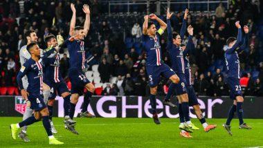PSG 6-1 Saint-Etienne, French League Cup Result: Mauro Icardi Hat-Trick Help Paris Saint-Germain Demolish St-Etienne to Reach Semi-Finals
