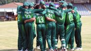 Pakistan U19 vs Zimbabwe U19 Live Streaming Online of ICC Under-19 Cricket World Cup 2020: How to Watch Free Live Telecast of PAK-U19 vs ZIM-U19 CWC Match on TV