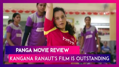Panga Movie Review: Kangana Ranaut's Stellar Act Keeps Shines In This Well-Written Film
