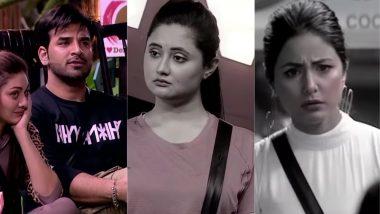 Bigg Boss 13: Paras Chhabra Asks Rashami Desai To Shave Her Eyebrows, Leaves Hina Khan Shocked
