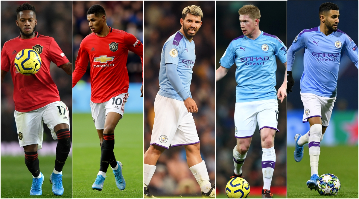 Man United vs Man City, Carabao Cup 2019–20: From Marcus Rashford to Sergio Aguero, 5 Players to Watch Out for in Manchester Derby in Football League Cup Clash