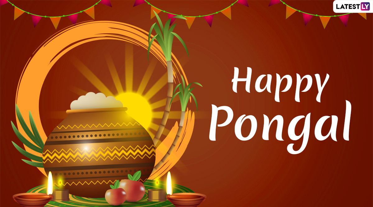 Happy Pongal 2020 Wishes: WhatsApp Stickers, Thai Pongal GIF Images, Facebook Greetings, Quotes, SMS and Messages to Celebrate This Festival of Tamil Nadu