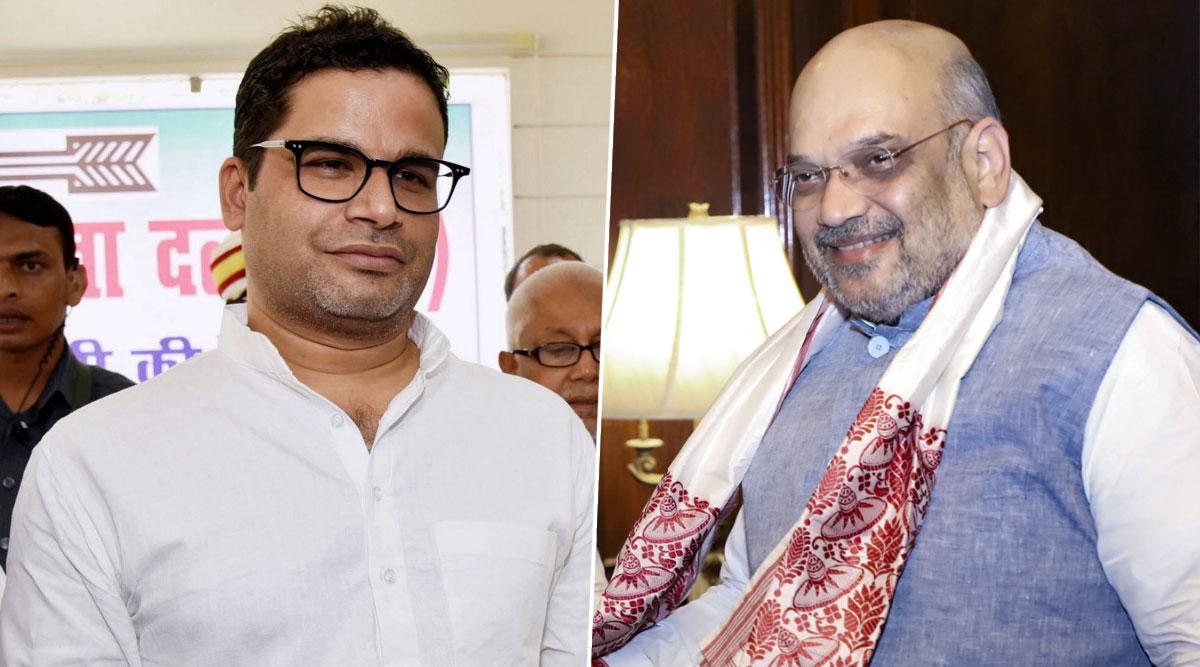 Prashant Kishor Takes 'Aap Chronology Samajh Lijiye' Jibe at Amit Shah, Dares Home Minister to Announce Nationwide NRC