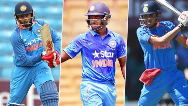 Shikhar Dhawan Ruled Out of IND vs NZ T20I Series: From Sanju Samson to Prithvi Shaw, Here're 4 Players Who Can Replace the Indian Opener
