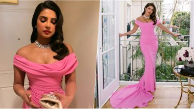 Priyanka Chopra Jonas' Golden Globes 2020 Style File: Want to Sport Some Hot Pink? Learn It From Our Desi Girl (View Pics)