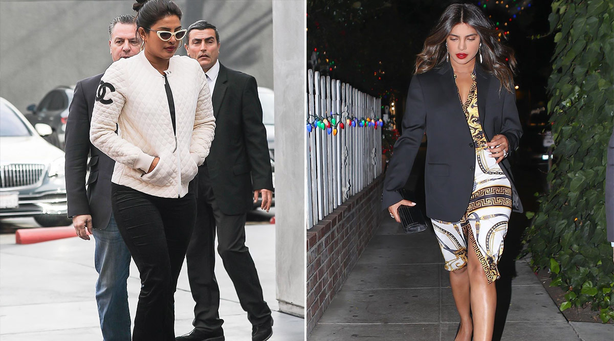 Priyanka Chopra Steps Out to Stun, Sports High Luxe Styles Versace and Chanel!