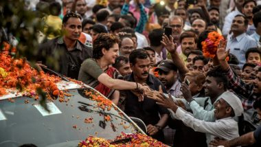 Priyanka Gandhi 48th Birthday: Gandhi Scion Who Resembles Late PM Indira Gandhi Gets Wished by Scores on Twitter, See Wishes From Top Congress Leaders