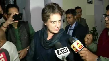 Farm Laws Protest: Priyanka Gandhi Vadra Sends Homemade Food for Protesting Congress MPs at Delhi's Jantar Mantar