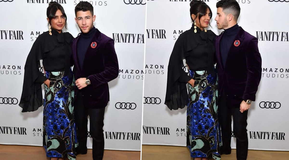 Priyanka Chopra and Nick Jonas Make a Stunning Appearance at Pre Golden Globes 2020 Party (View Pics)
