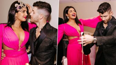 Priyanka Chopra's Pink Cutout Dress Costs a Bomb! Check out the Price of PeeCee's New Year Bash Outfit