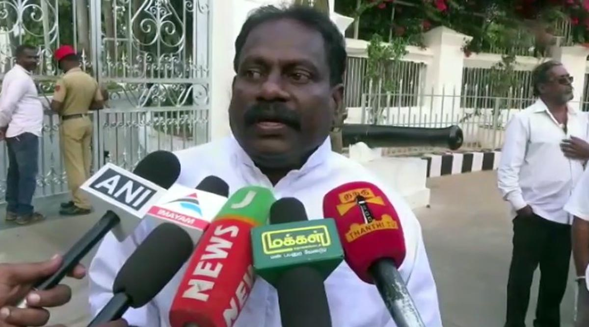 Puducherry: Rebel Congress MLA Accuses CM Narayanasamy of Stalling Work in His Constituency, Says Will Meet Rahul Gandhi After Pongal