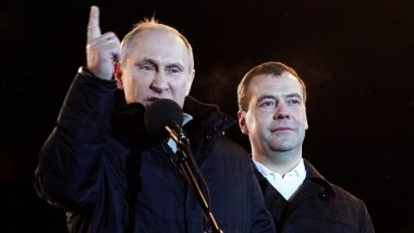 'Russian Government Resigns', Announces PM Dmitry Medvedev After Vladimir Putin's State of The Nation Address