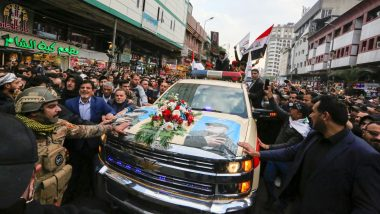 Qasem Soleimani's Body to Reach Iran After Funeral Processions in Iraq