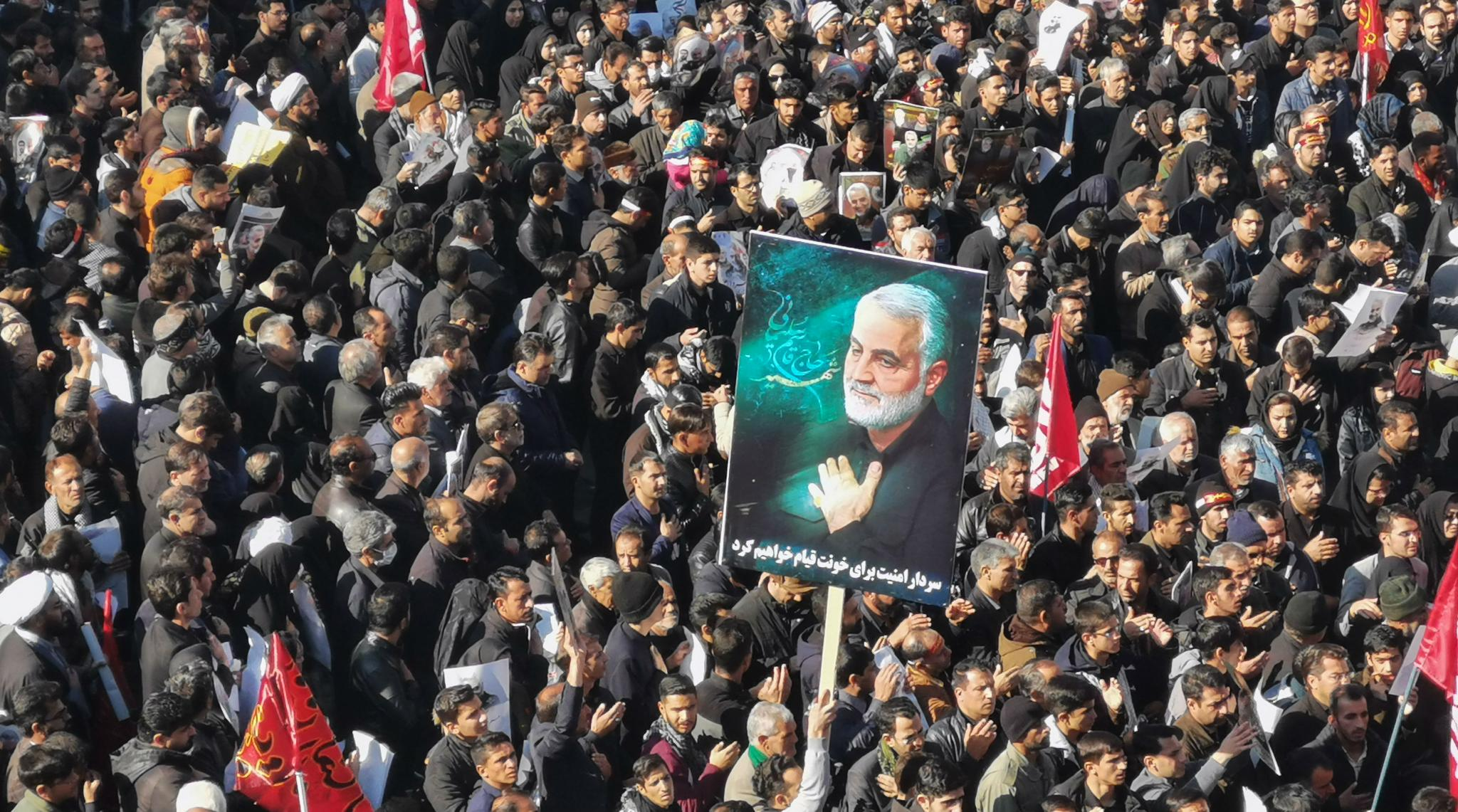 Qasem Soleimani Burial: Mourners Dead in Stampede at Iran General's Funeral Procession