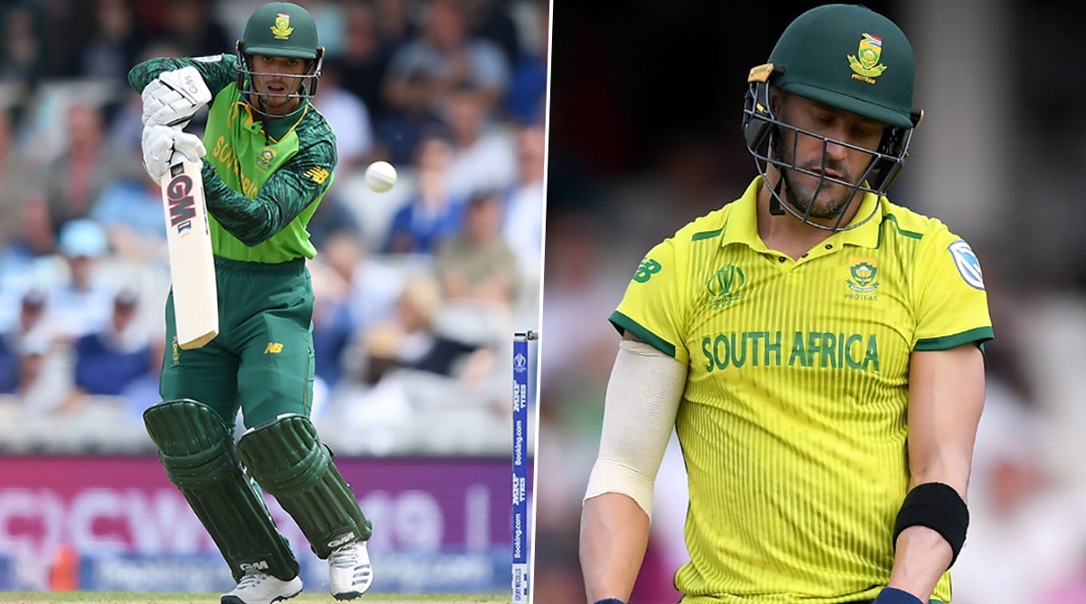 Quinton de Kock's Appointment As ODI Captain Against England Throws Further Uncertainty Over Faf du Plessis' Future, See Full Squad