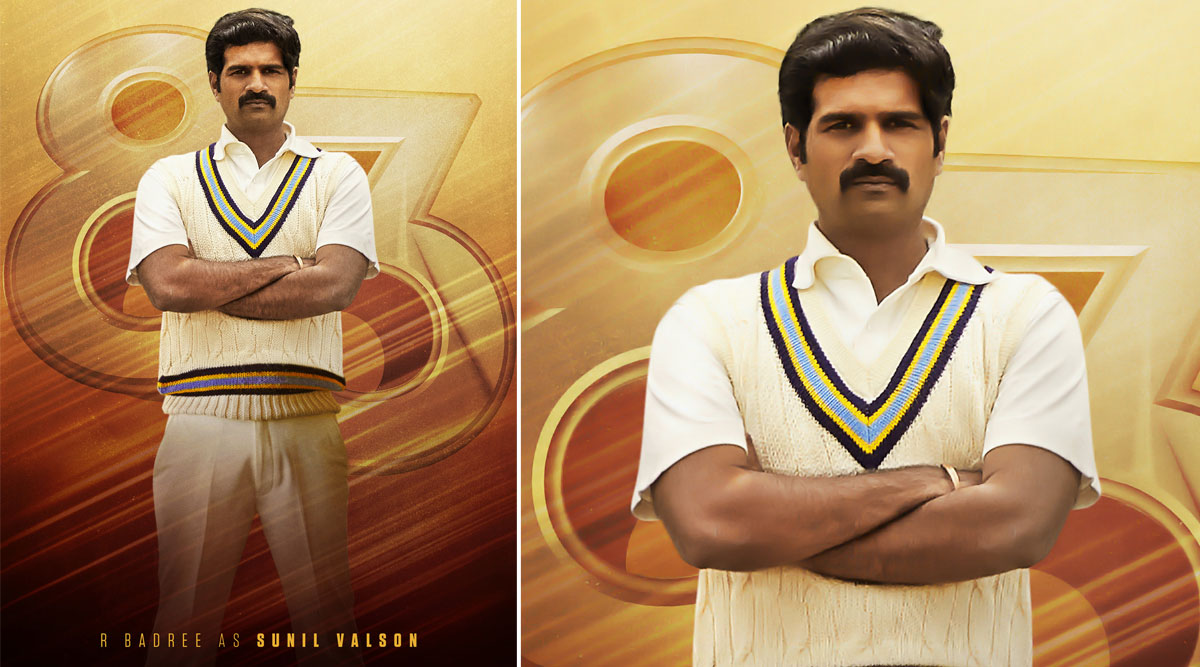 83 The Film: R Badree to Play the Role of Former Cricketer Sunil Valson in the Kabir Khan Directorial
