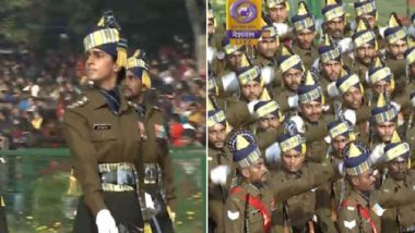Republic Day 2020 Live News Updates: Captain Tanya Shergill Becomes 1st Woman to Lead All-Men Marching Contingent in R-Day Parade