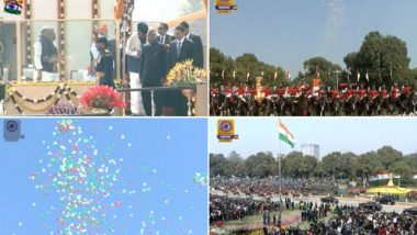Republic Day 2020 Live News Updates: PM Modi, Brazil President Jair Bolsonaro Leave as R-Day Parade Concludes