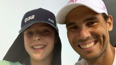 Rafael Nadal Posts Pic With Ball Girl Anita Whom He Had Accidentally Hit, Says She Is Doing Well