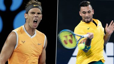 Rafael Nadal vs Nick Kyrgios, Australian Open 2020, 4th Round Free Live Streaming Online: How to Watch Live Telecast of Men's Singles Tennis Match?