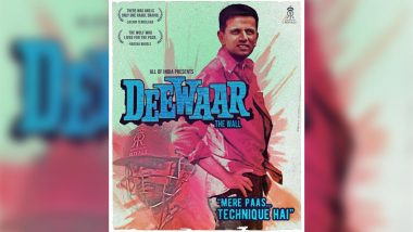Rahul Dravid Turns 47: Rajasthan Royals Wishes 'The Wall' With a Rendition Banner of Famous Amitabh Bachchan Movie Deewar and It Is Just WOW! View Pic
