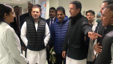 Shamsher Singh Surjewala, Congress Leader And Randeep Singh Surjewala's Father, Dies; Rahul Gandhi Visits AIIMS to Express Condolences