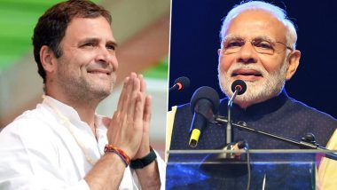 'Happy Birthday, PM Narendra Modi': Rahul Gandhi Wishes Prime Minister on His 70th Birthday