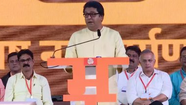Ram Temple 'Bhoomi Pujan' in Ayodhya Not Required Amid COVID-19 Pandemic, Says MNS Chief Raj Thackeray