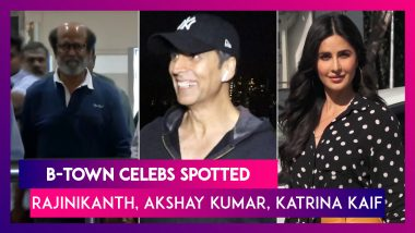 Rajinikanth Talks About His Injury, And Akshay Kumar, Katrina Kaif And Other Celebs Spotted