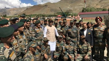 Rajnath Singh Greets Indian Army Personnel on Army Day 2020