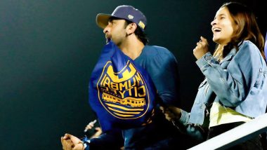 Couple Goals! Alia Bhatt Accompanies Ranbir Kapoor at the Indian Super League, Duo Cheer for the Latter's Football Team