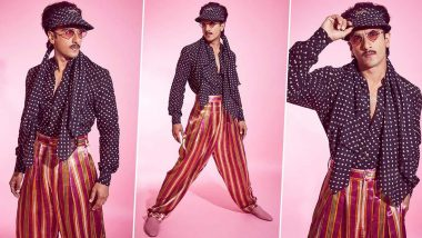 Ranveer Singh Is Swishy, Sassy, a Little Badassy and Rocking This Eclectic Sabyasachi Lewk!