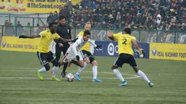 I-League 2019–20: Mohun Bagan Beat Real Kashmir FC 2–0, Move to Top of the Points Table
