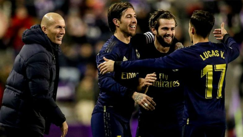 La Liga 2019-20 Result: Real Madrid Go Top of La Liga with Gritty Win 0-1 Over Real Valladolid