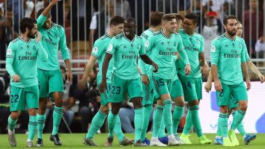 Espanyol vs Real Madrid, La Liga 2019–20 Free Live Streaming Online & Match Time in IST: How to Get Live Telecast on TV & Football Score Updates in India?