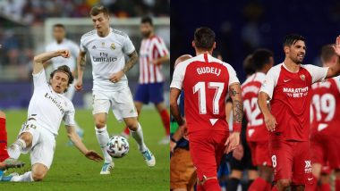 RM vs SEV Dream11 Prediction in La Liga 2019–20: Tips to Pick Best Team for Real Madrid vs Sevilla, La Liga Football Match