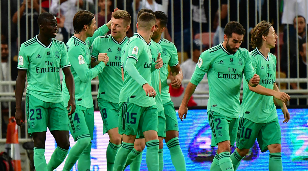 Real Madrid 3-1 Valencia, Supercopa de Espana 2020 Result: Toni Kroos Stunner Take Los Blancos to Spanish Super Cup Final