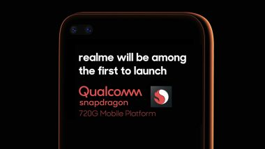 New Realme Smartphone With New Snapdragon 720G Chipset To Be Launched in India Soon