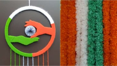 Republic Day 2020 Office Bay Decoration Ideas: Simple And Quick Tips to Brighten Your Workspace With Tricolour (Watch DIY Videos)