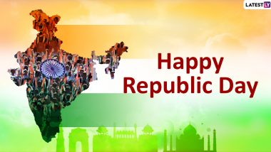 Happy Republic Day 2020 Greetings & Images: WhatsApp Stickers, GIF Image Messages, Patriotic Quotes And SMS to Send on January 26