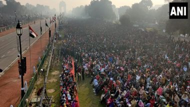Republic Day 2020 Live News Updates: Crowd Swells at Delhi's Rajpath, R-Day Parade to Begin Shortly