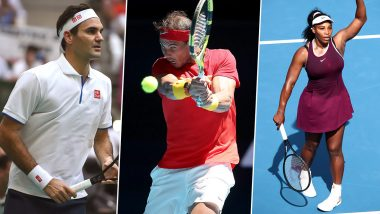 Roger Federer, Rafael Nadal and Serena Williams to Play in Exhibition Matches to Raise Funds for Australia Bushfire Relief