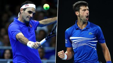 Australia Open 2020: Roger Federer vs Novak Djokovic Head-to-Head Record Ahead of Aus Open Semi-Final Clash, Here Are Last Five Match Results