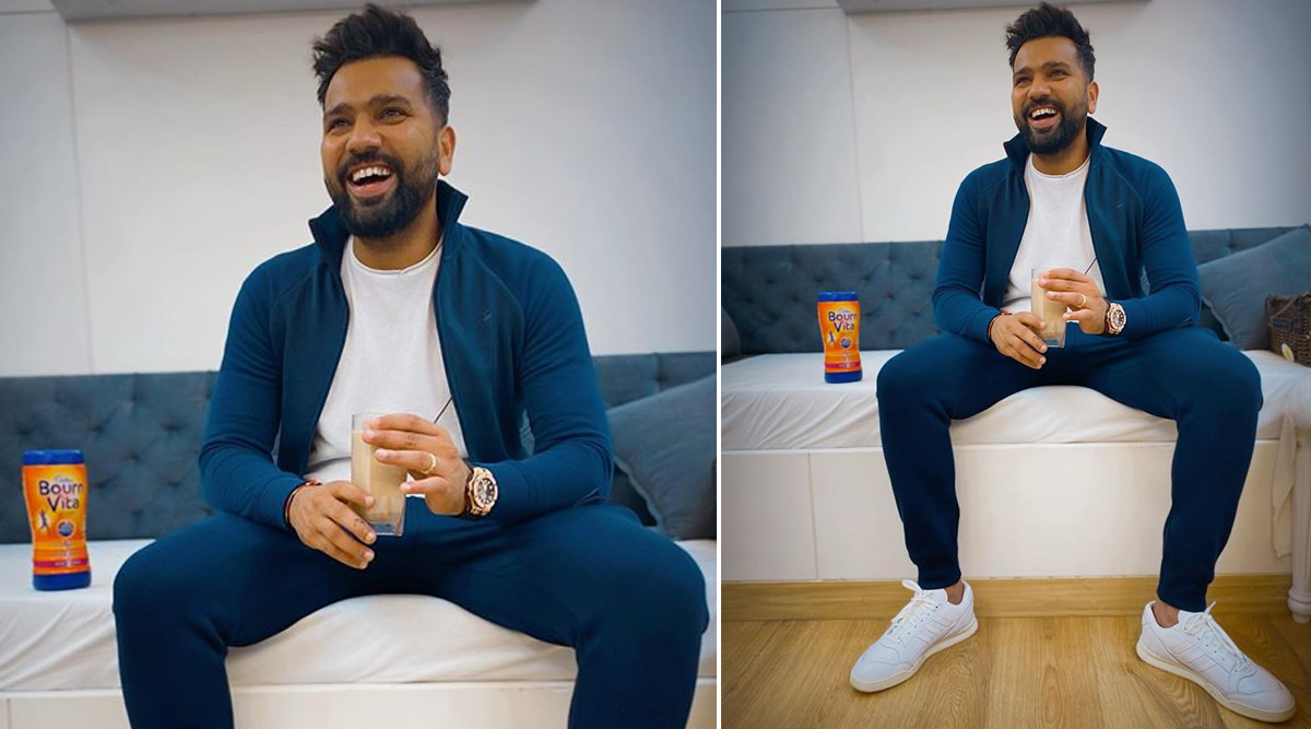 Rohit Sharma Relives His Childhood Memories With a Glass of Bournvita (See Post)