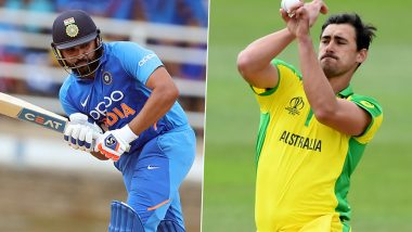 India vs Australia 1st ODI 2020: Rohit Sharma vs Mitchell Starc, David Warner vs Jasprit Bumrah and Other Exciting Mini Battles to Watch Out for in Mumbai