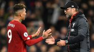 Roberto Firmino Becomes Latest Liverpool Injury Casualty As Reds Lose At Anfield For Sixth Successive Game