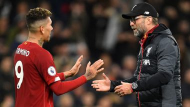 Liverpool Boss Jurgen Klopp Reveals Reason for Roberto Firmino's Apology After 1–0 Win Over Tottenham Hotspur